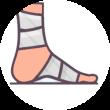 podologo medicazione piede