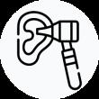 nurse for ear irrigation